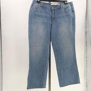 Venezia bootcut denim blue jeans plus size 18 P